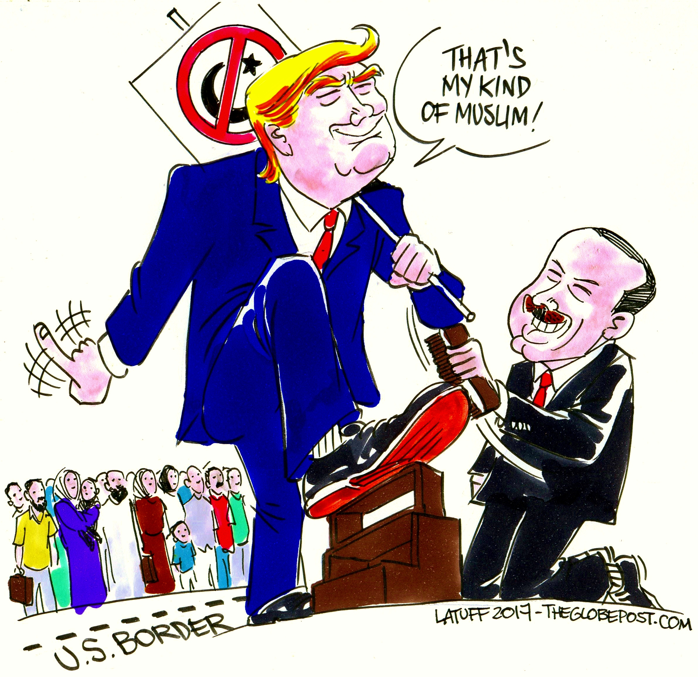 Image result for trump erdogan cartoon