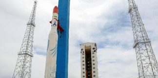Iran successfully tested a satellite-launch rocket on Thursday.