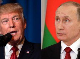 Russia's President Putin and US President Trump
