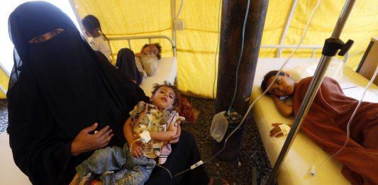 Cholera cases in Yemen