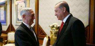 James Mattis, Erdogan, military cooperation, PKK, Syria, Islamic State