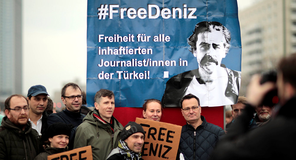 German Ambassador, Deniz Yucel, jail, human rights activists, Amnesty International