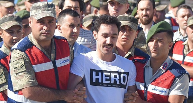 coup suspect, T-shirt, hero, uniform, Guantanamo, Erdogan