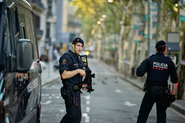 terrorists, Spain, tourism radicalized attacks