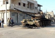 Russia ceasefire truce Syria Homs