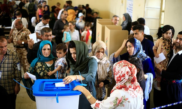 Kurdistan referendum vote