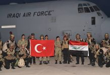 Iraq, Turkey, military drill
