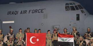 Iraq, Turkey, military drill
