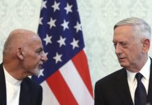Mattis and Ghani in Kabul