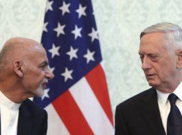 Mattis and Ghani in Kabul