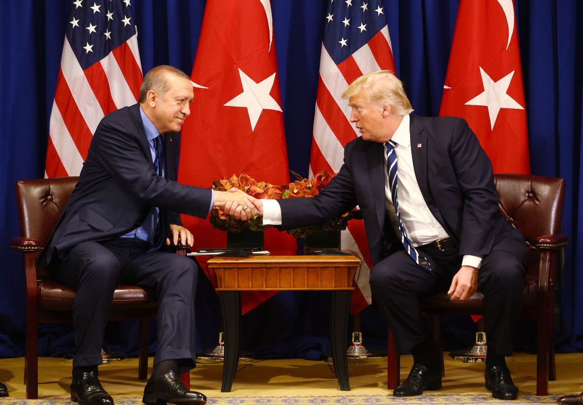 Erdogan, Trump, meeting