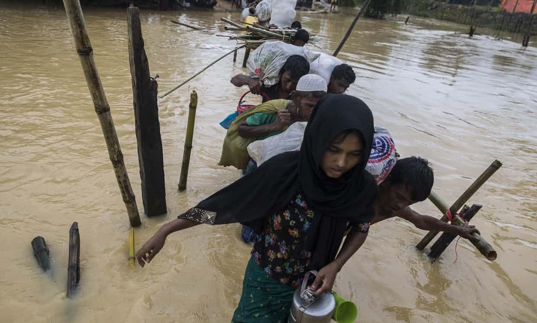 Rohingya Muslims, US, aid, UN, persecution