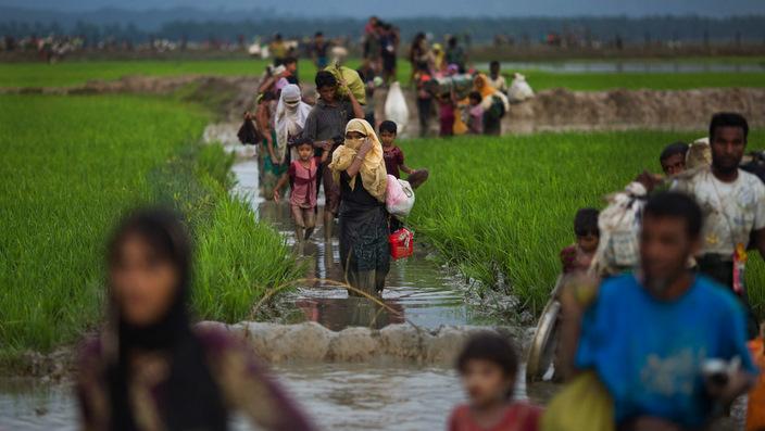 Aung San Suu Kyi, Myanmar, Rohingya Muslims, violence, Nobel Peace Prize