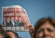 cumhuriyet journalists turkey trial