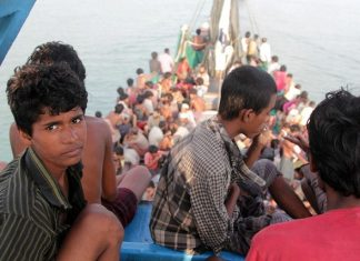 Indonesia Rohingya refugees