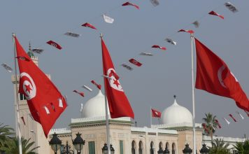 Government buildings in the Tunisian capital. Tunisian democracy has faced numerous setbacks since the Arab Spring.