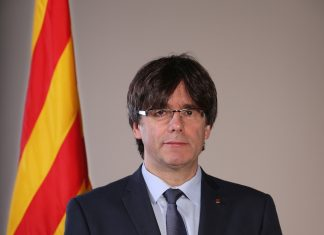 Carles Puigdemont, president of Catalonia