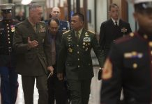 Gen. Joseph F. Dunford meets Indonesia's Gen. Gatot Nurmantyo