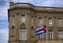 Cuban embassy in the U.S.