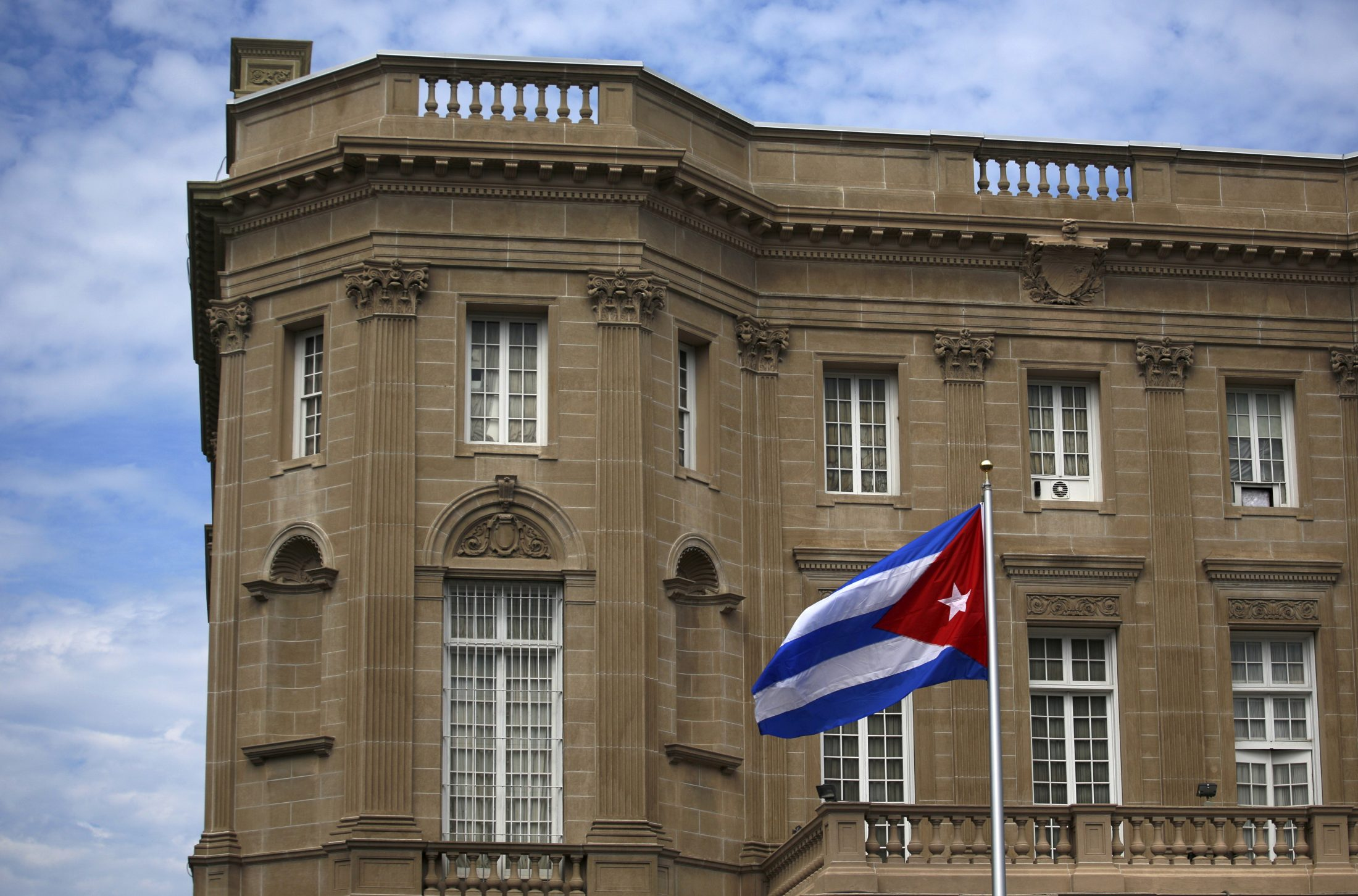 Cuban embassy in the U.S.