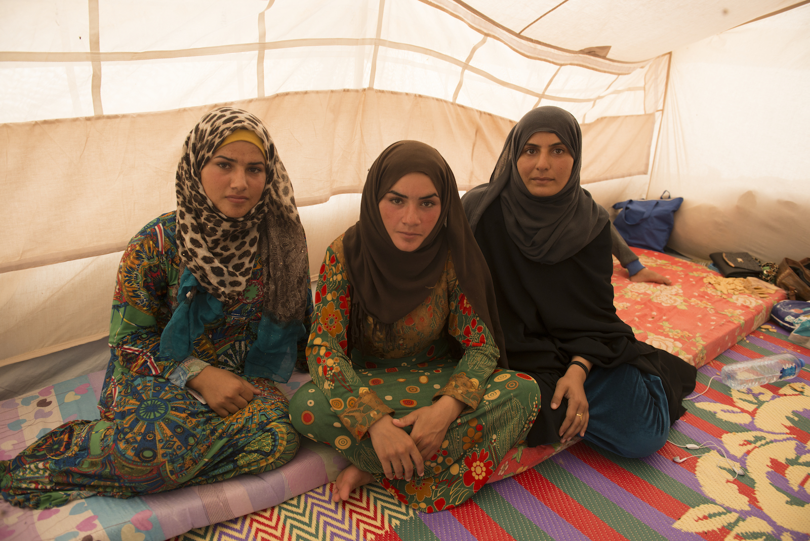 Usal fled Qaim with her sisters and children.