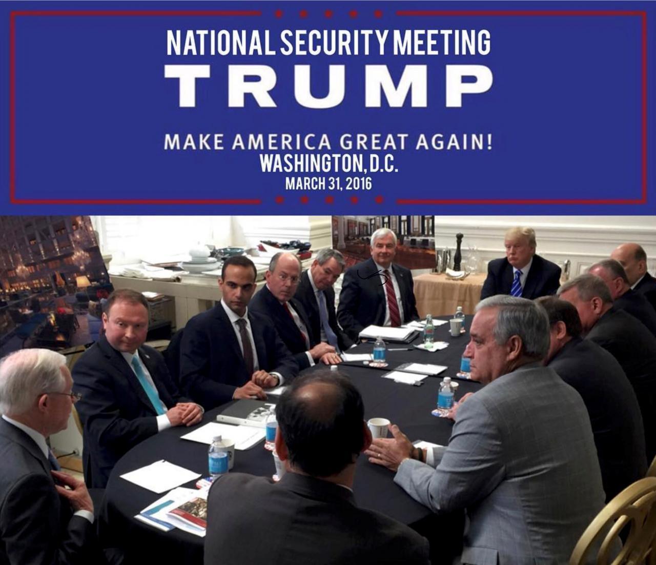 George Papadopoulos Trump Paul Manafort