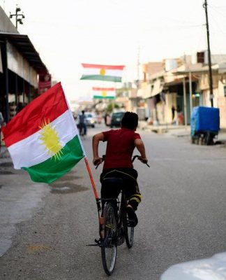 Flag of Iraqi Kurdistan