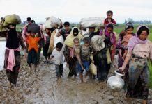 Rohingya Muslims Myanmar genocide ethnic cleansing