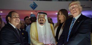 Trump popularity Arab social media