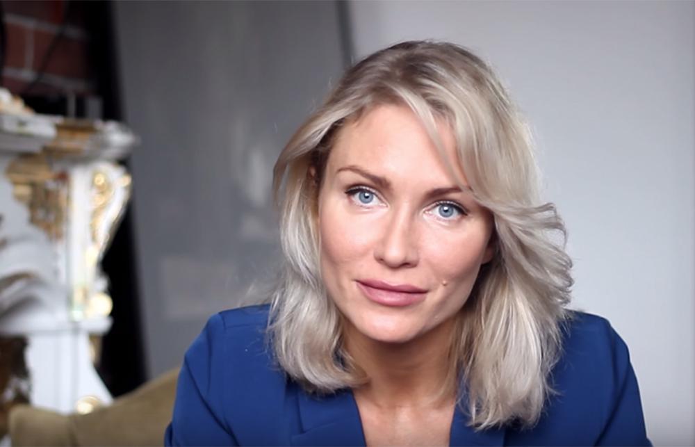 Russian presidential candidate Ekaterina Gordon