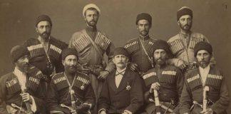 Eight Circassian men