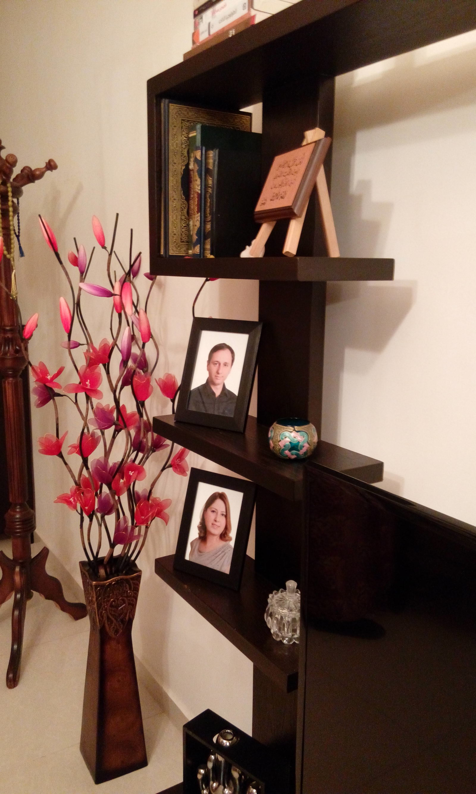 Photos of Bislan and Sarima at the home of Yashar Islam, a Syrian Circassian man who lives in Jordan