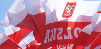 Polish flags