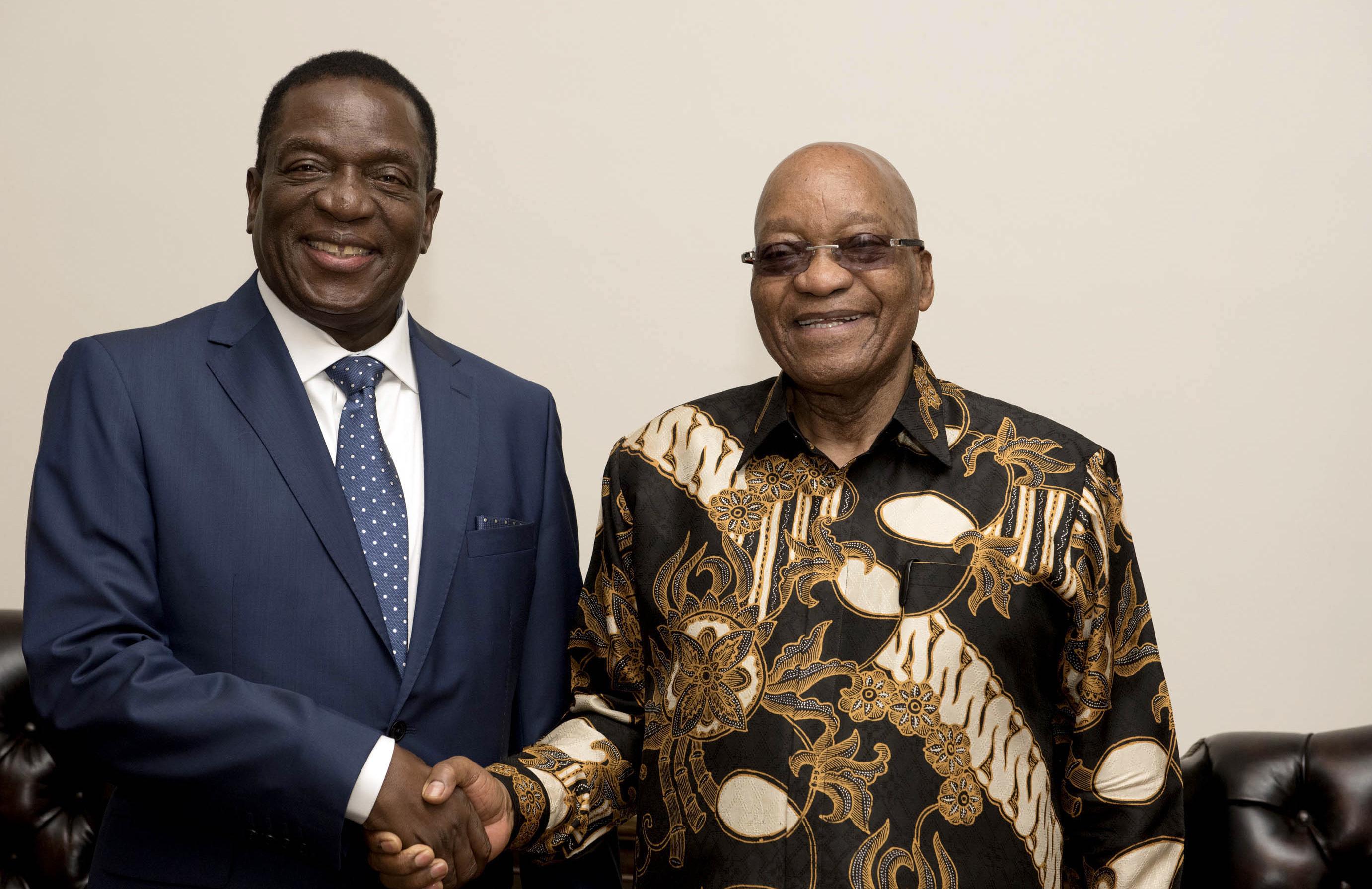 South Africa Zimbabwe Political Turmoil