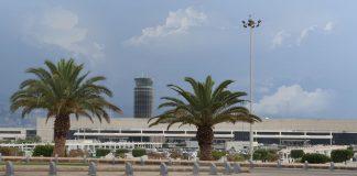 Beirut international airport in Lebanon