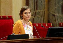 Catalan parliament speaker Carme Forcadell