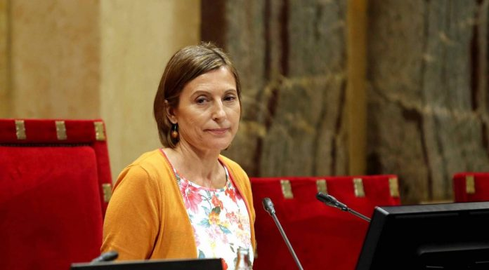 Catalan parliament speaker Carme Forcadell