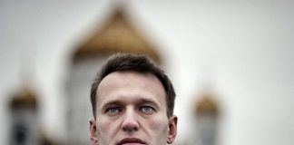 Russian presidential candidate Aleksey Navalny