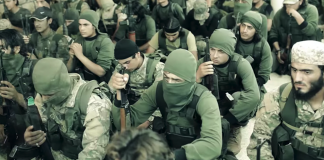 Jabhat Fateh al-Sham fighters