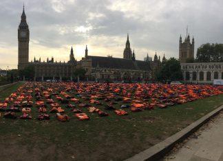 Refugee life jackets