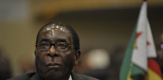 Robert Mugabe, president of Zimbabwe, attends the 12th African Union summit in Ethiopia in 2012