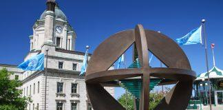 UNESCO monument in Quebec