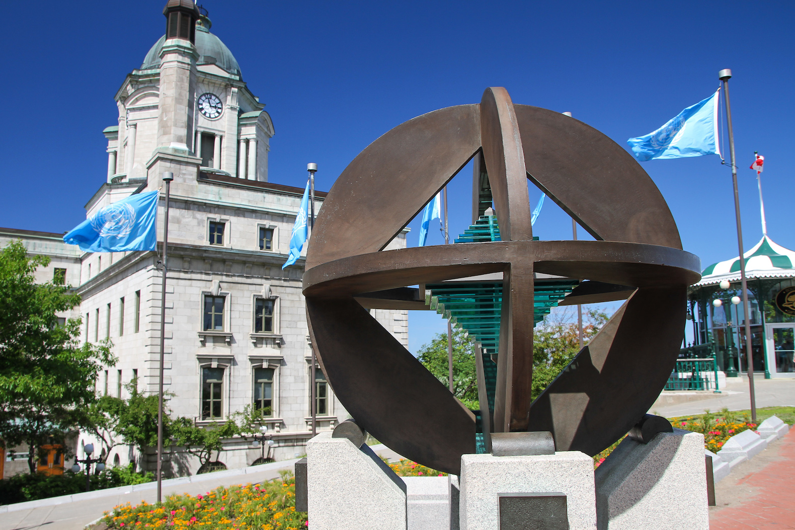 UNESCO monument in Quebec