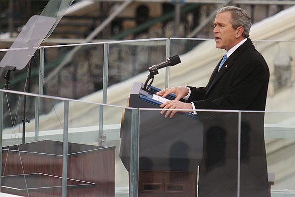 George w. bush inaugural 2005