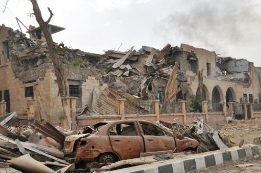 Deir Ezzor ISIS Syria car bombing attack
