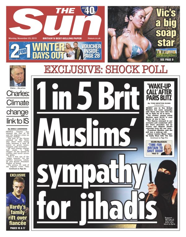 the sun hate crimes discrimination