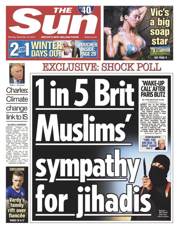 the sun hate crimes discrimination