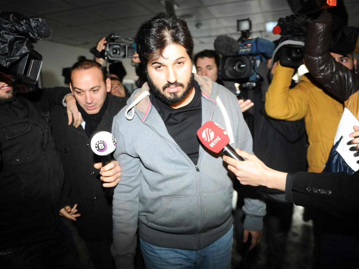 Reza Zarrab, Turkey, Iran, sanctions case
