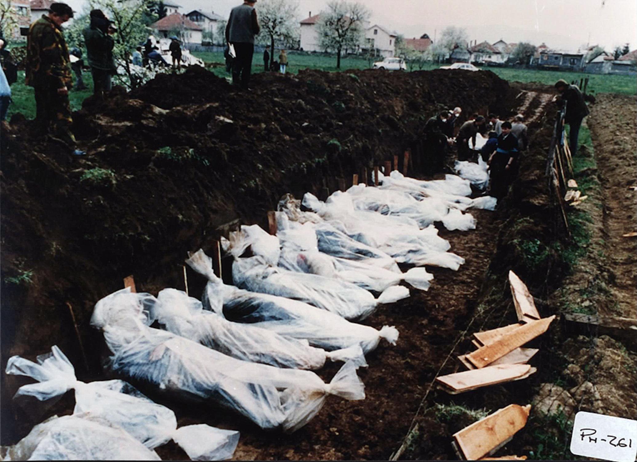 Bosnia Vitez massacre