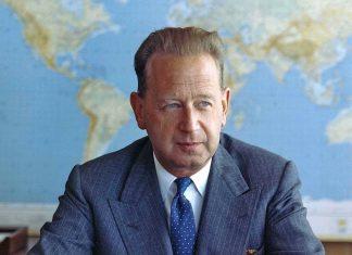 Dag Hammarskjold, secretary-general of the United Nations